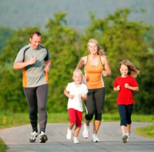 Healthy exercise for Parents